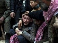 boy-mouns-dad-killed-in-Syrian-Civil-War-ap