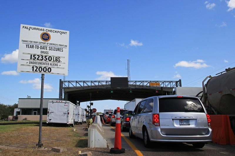 Falfurrias Border Patrol Checkpoint. (File Photo: Bob Price/Breitbart Texas)