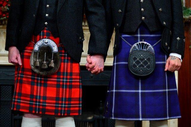 Scotland's First Same-Sex Marriage Ceremonies
