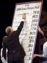 iowa straw poll