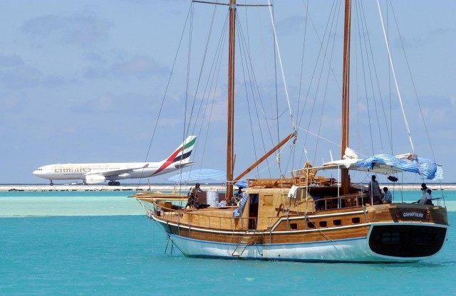 MALDIVES-TOURISM-AIRPORT