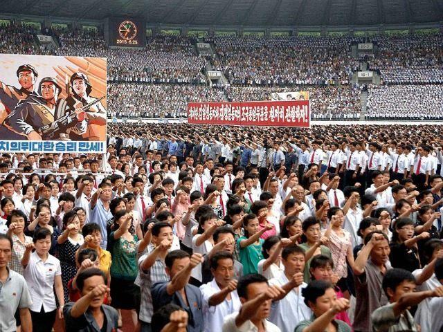 REPUBLIC OF KOREA OUT AFP PHOTO / KCNA via KNS