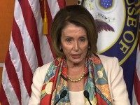 Thursday at her weekly press briefing, House Minority Leader Nancy …