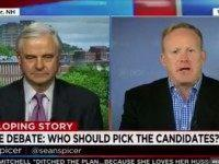 "Sunday on CNN's ""Reliable Sources,"" RNC communications director Sean Spicer …"