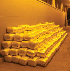 More than two-tons of marijuana seized by Border Patrol. (Photo: U.S. Customs and Border Protection)