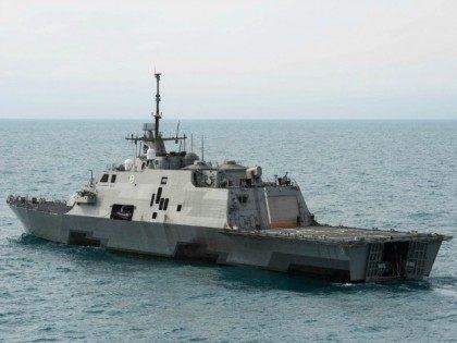 REUTERS/U.S. Navy/Mass Communication Specialist 2nd Class Antonio P. Turretto Ramos/Handout via Reuters