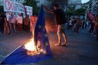 GREECE-POLITICS-ECONOMY-EU-IMF-PROTEST