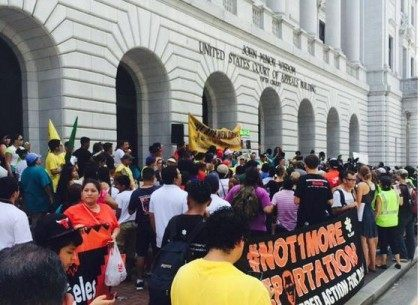 5th Circuit Protest - Twitter - @Re4mImmigration