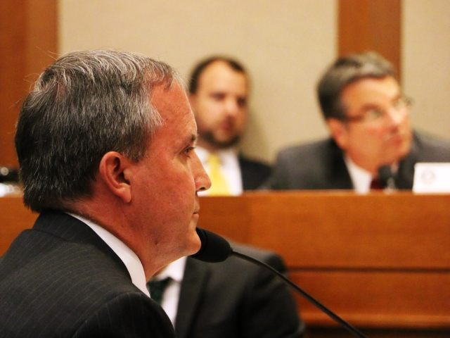 AG Ken Paxton at House hearing