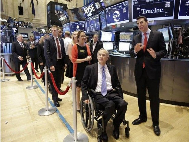 Greg Abbott at NYSE