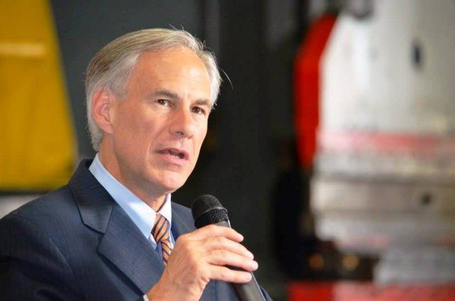 """Abbott announces """"A Working Plan for Texas"""" during campaign."""