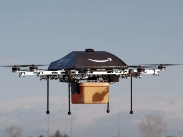 Amazon PrimeAir Drone (AP / Amazon)