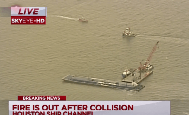 Barge Collision