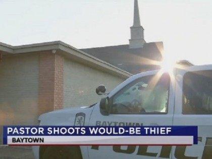 Baytown Pastor Shoots Burglar - KTRK Screenshot