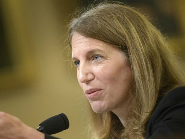 Secretary of Health and Human Services Sylvia Burwell speaks during a House Ways and Means Committee hearing on Capitol Hill June 10, 2015 in Washington, DC. The committee held a hearing on 'ObamacareImplementation and the Department of Health and Human Services FY 2016 Budget Reqest.' AFP PHOTO/BRENDAN SMIALOWSKI (Photo credit …
