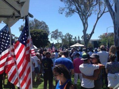 Iran rally San Diego (Eli Rubenstein / Twitter)