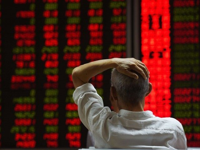 China Stock Crash (Greg Baker / AFP / Getty)
