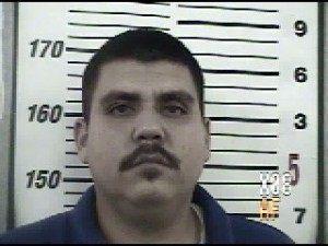 "Jail photograph of Gulf Cartel Commander Benicio ""Veneno"" Lopez"