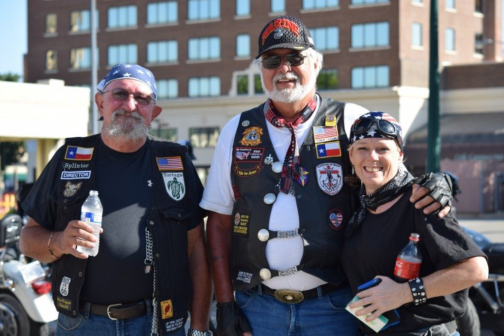 """Christian & Veteran Riders"" (Photo: Breitbart Texas/Lana Shadwick)"