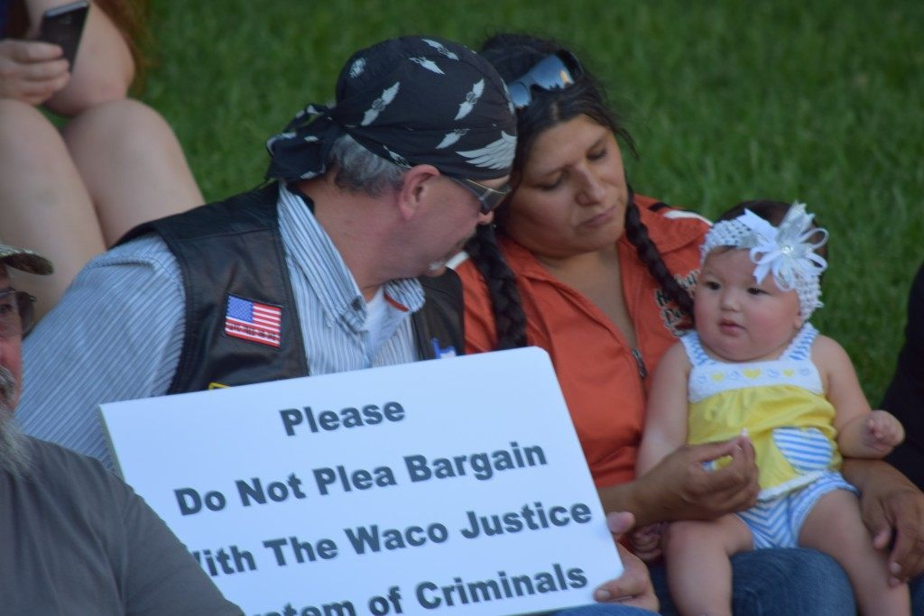 """No Plea Bargain"" (Photo: Breitbart Texas/Lana Shadwick)"