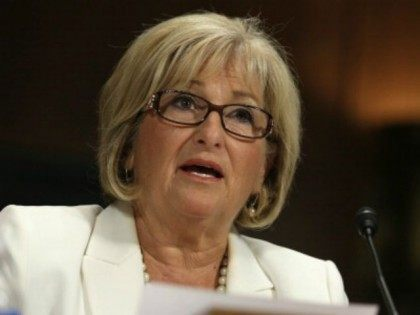 U.S. Rep. Diane Black (R-TN) testifies during a hearing before the Senate Judiciary Committee July 15, 2014 on Capitol Hill in Washington, DC. The hearing was to examine 'S.1696, The Women's Health Protection Act: Removing Barriers to Constitutionally Protected Reproductive Rights.