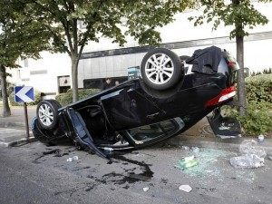 Do a barrel roll uber paris riot