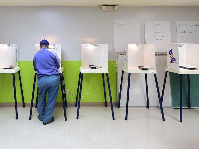 Empty Polling Place California (Frederic J. Brown / AFP / Getty)