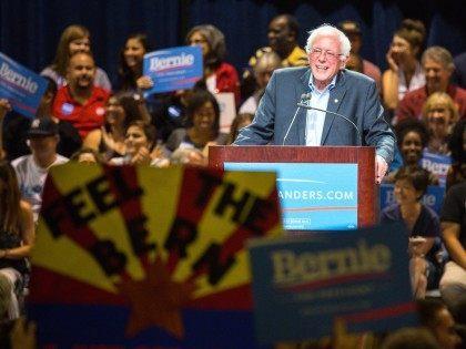 Feel the Bern Bernie Sanders (Charlie Leight / Getty)