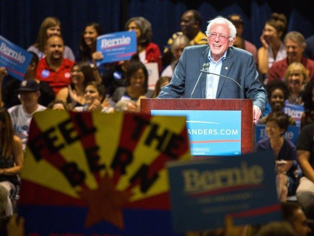 Feel the Bern Bernie Sanders (Charlie Leight / Getty)