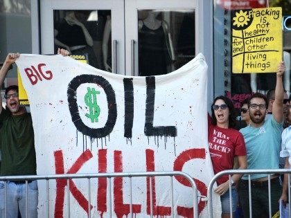 Fracking Protest (Robyn Beck / AFP / Getty)