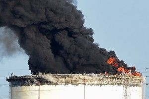 FRANCE-FIRE-CHEMICALS-PETROL