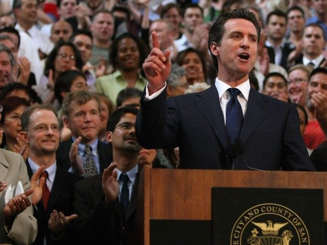 Gavin Newsom 2008 (Justin Sullivan / Getty)
