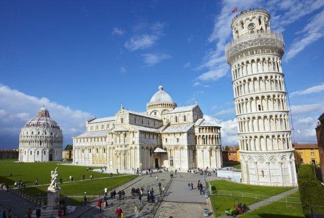 A view taken on December 2, 2010 of Pisa