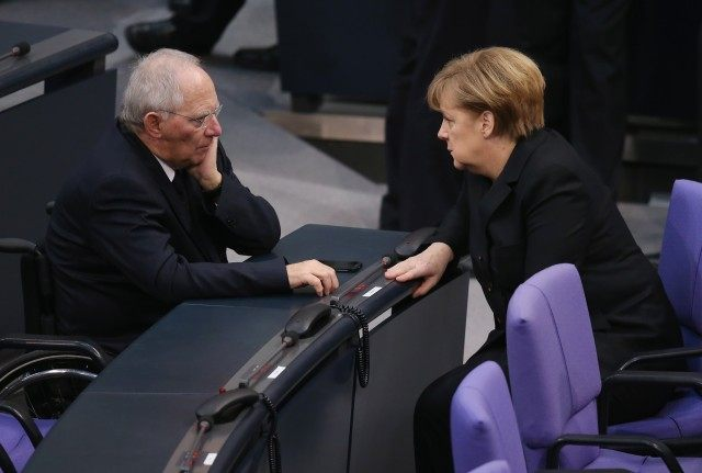 Bundestag Swears In Germany's New Coalition Government
