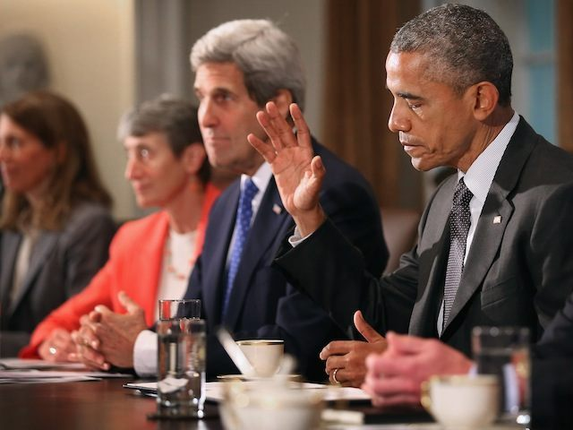 President Obama Holds A Cabinet Meeting At White House