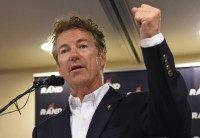 Presidential Candidate Rand Paul Campaigns In Las Vegas