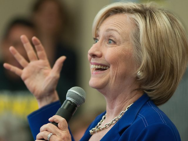 Democratic Presidential Candidate Hillary Clinton Campaigns In Iowa