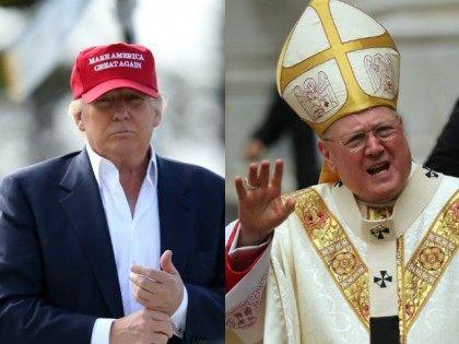 trump Cardinal Timothy Dolan