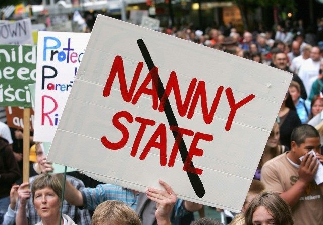 Protest March Over Child Smacking Bill