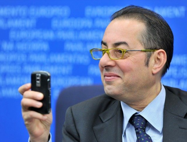 European parliament Vice President Giann