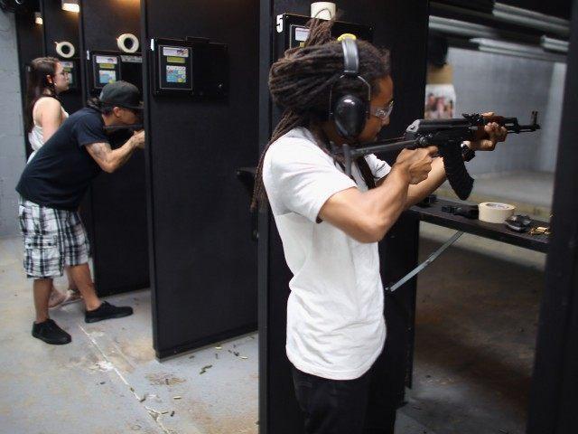 Gun Range (Joe Raedle / Getty)