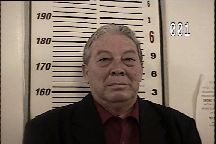 Mugshot of Starr County Justice of the Peace Salvador Zarate who has been arrested on bribery and drug charges.