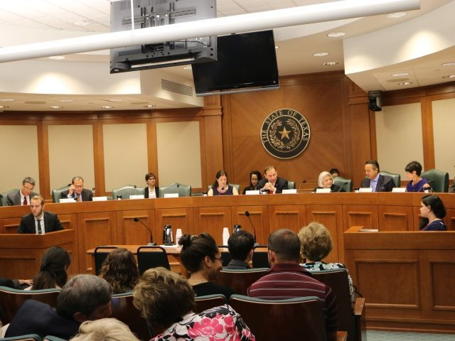 Texas Senate Committee investigating Planned Parenthood. (Photo: Texas Right to Life)