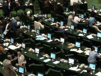 Iran Parliament Majlis (Behrouz Mehri / AFP / Getty)