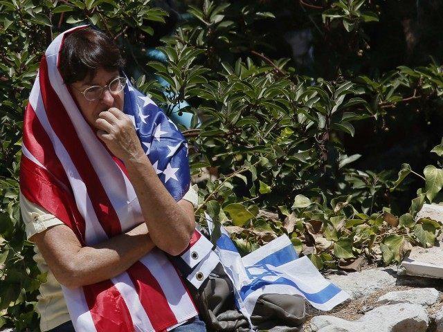 Israeli American mourning (Gali Tibbon / AFP / Getty)