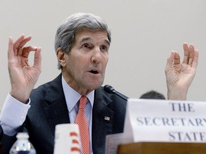 John Kerry at House (Olivier Douliery / Getty)