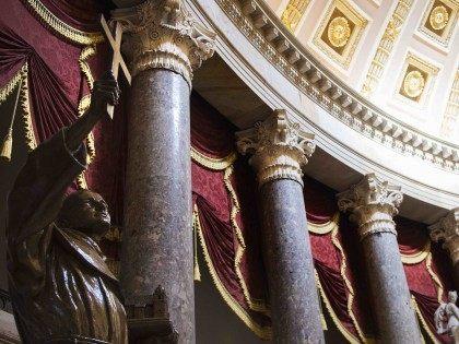 Junipero Serra Capitol Rotunda (Jim Watson / AFP / Getty)