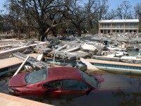 Katrina Car in Pool (Barry Williams / Getty)