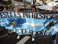 ARGENTINA-FALKLANDS-VETERANS-PROTEST