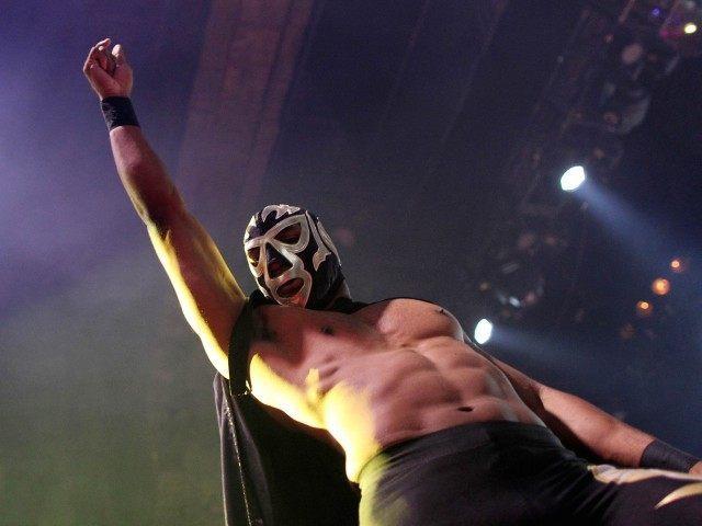 Luchador (David McNew / Getty)